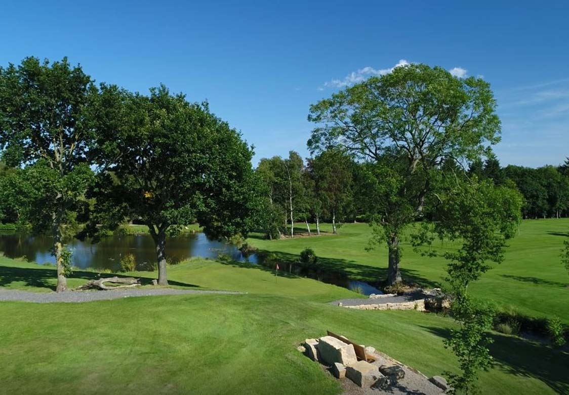 Akebar Golf Course Lake