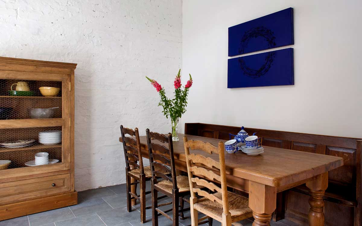 Morton House in Masham Open Plan Dining room next to the kitchen