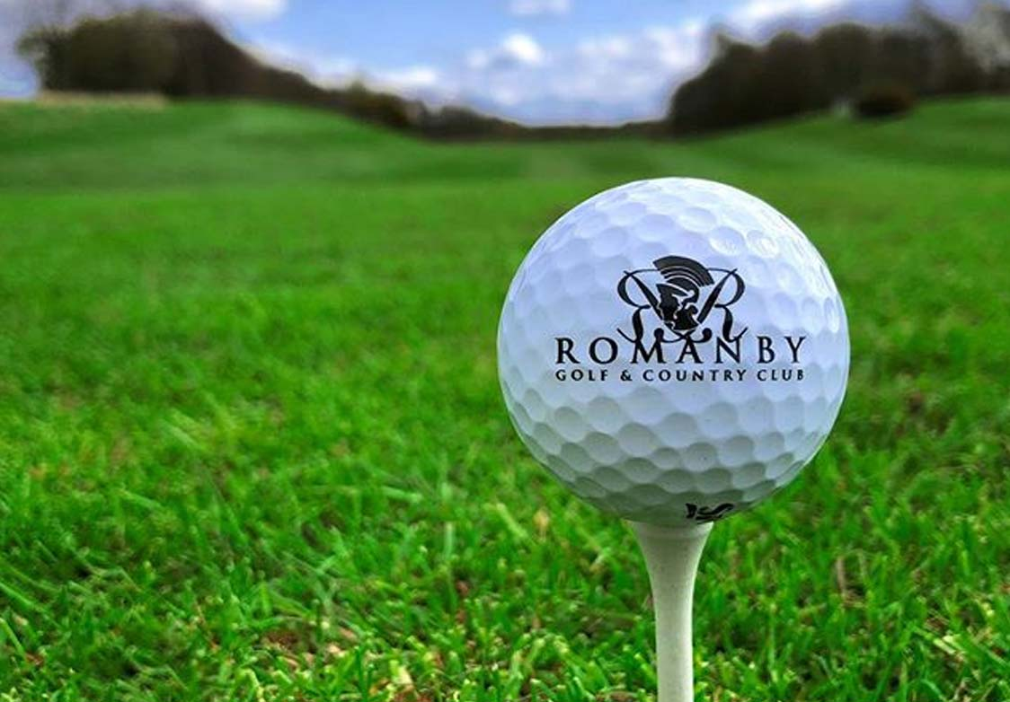 Ready to tee off at Romanby Golf Course