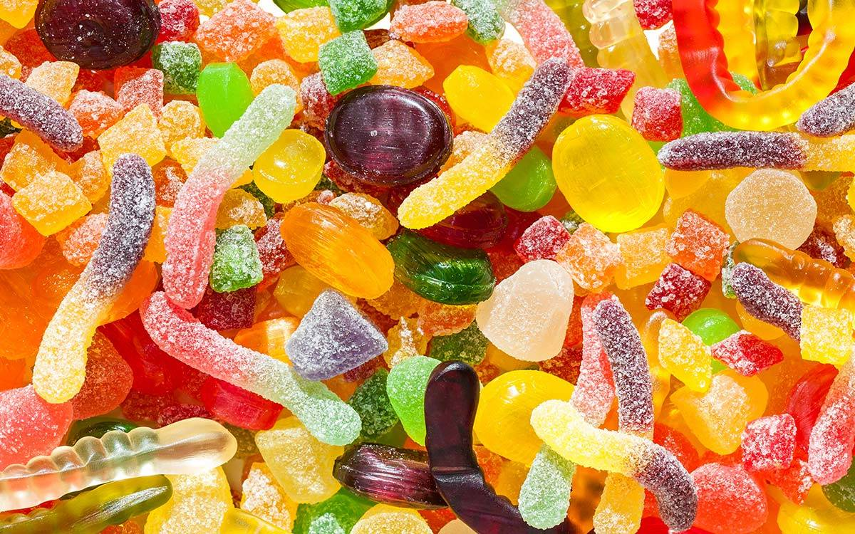 Jellys and sweets from Bah Humbugs, supplier to Morton House in Masham