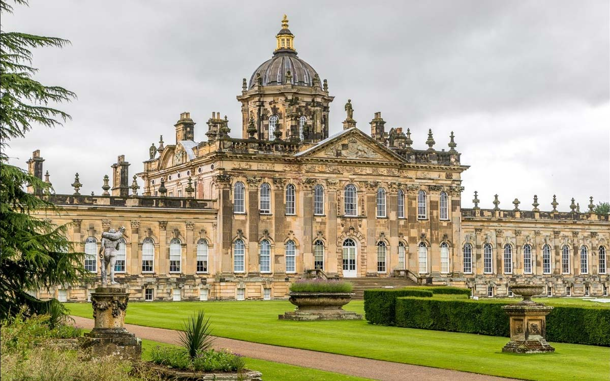 Castle Howard Garden View