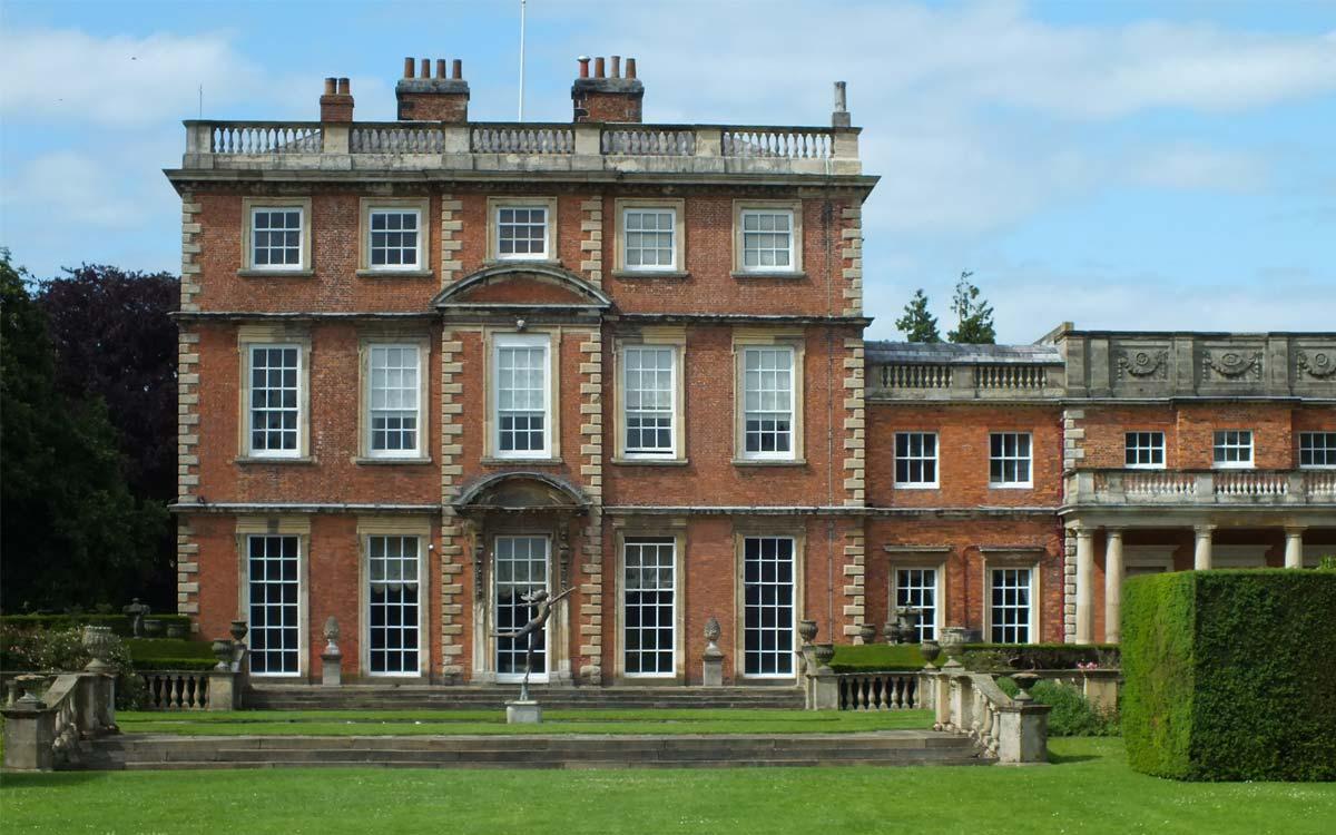 Newby Hall exterior facade