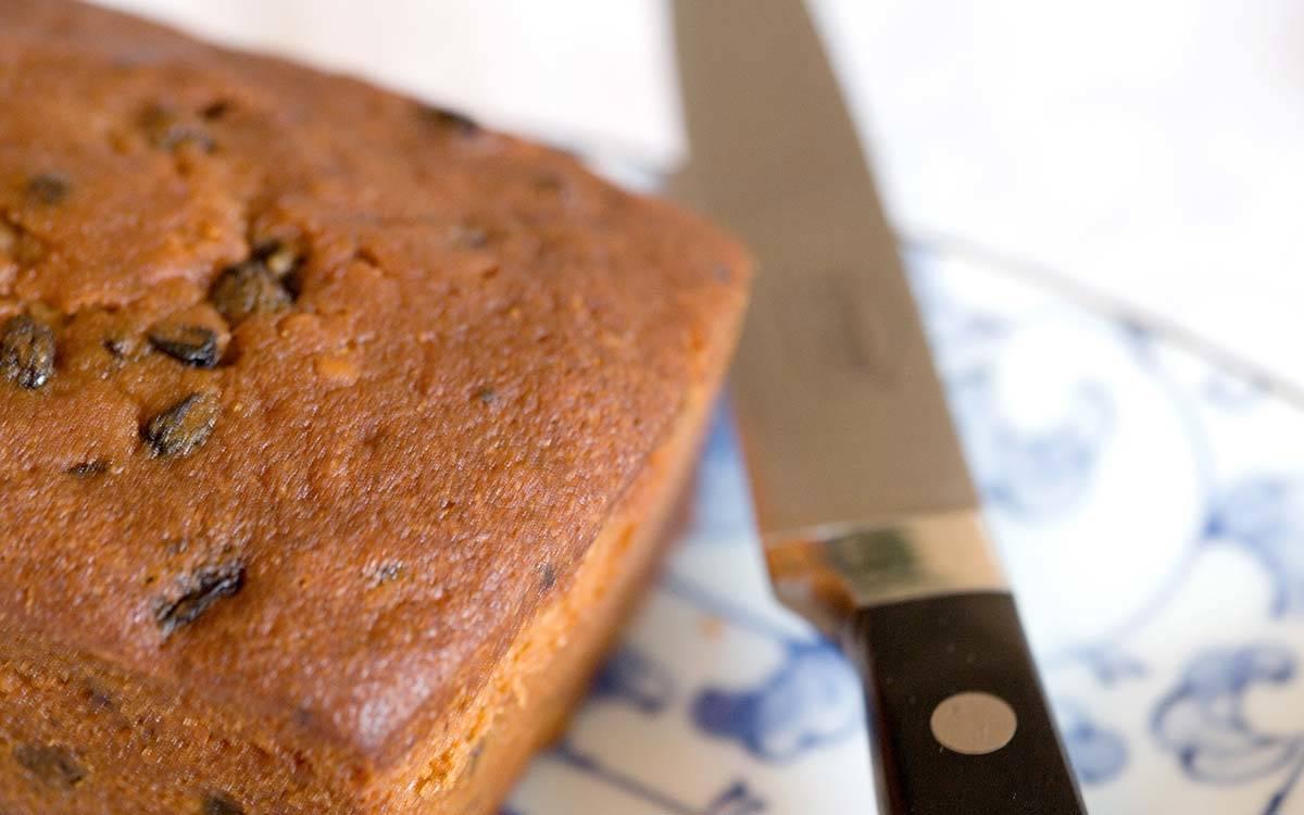 The Stable Block in Masham, Freshly Baked Fruit Loaf