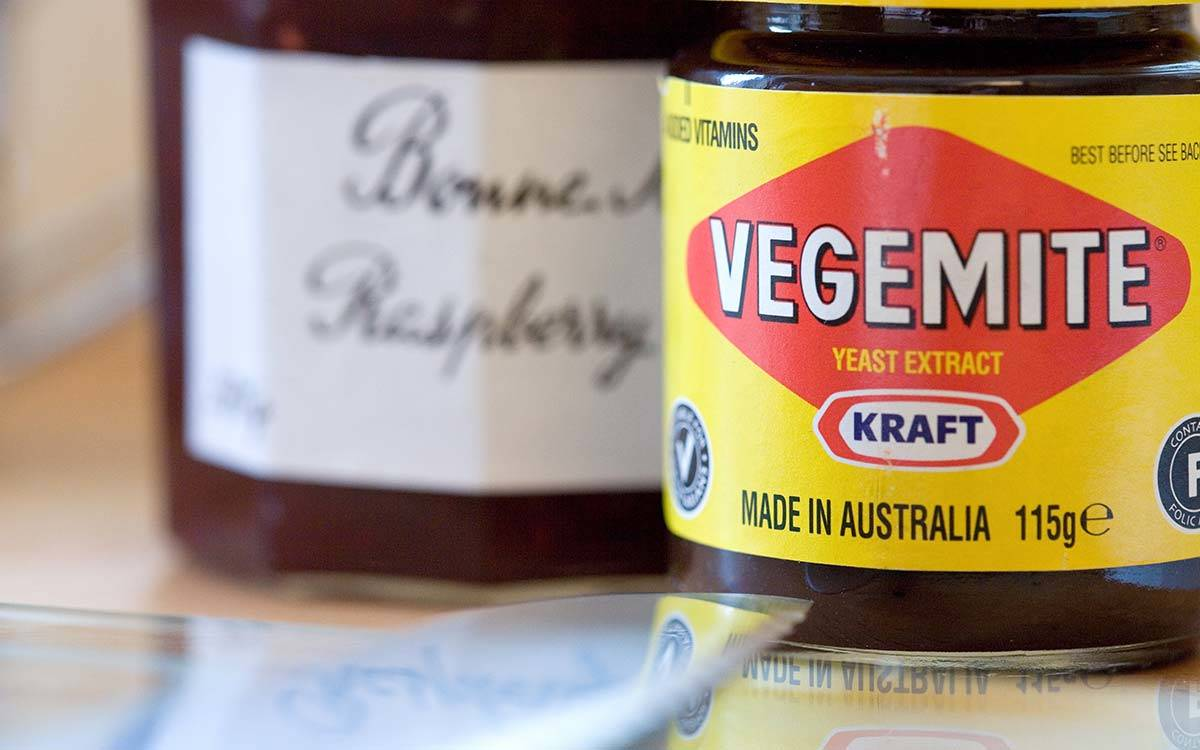 The Stable Block in Masham, decorative detail Vegemite jam Jam