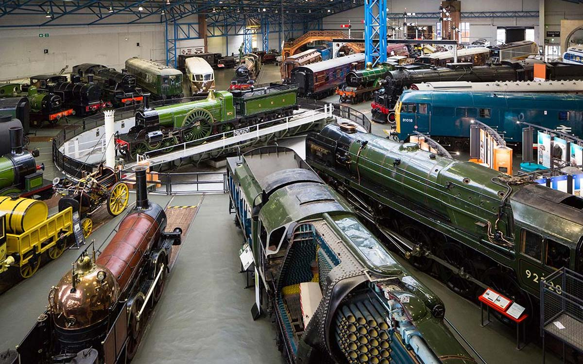 York Railway Museum Turntable View