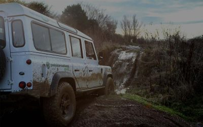 Yorkshire 4x4 Driving Experience Muddy Jeep