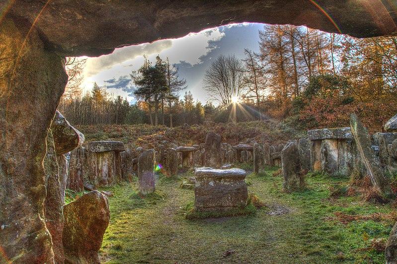 Druids Temple, Leighton, Masham, North_Yorkshire