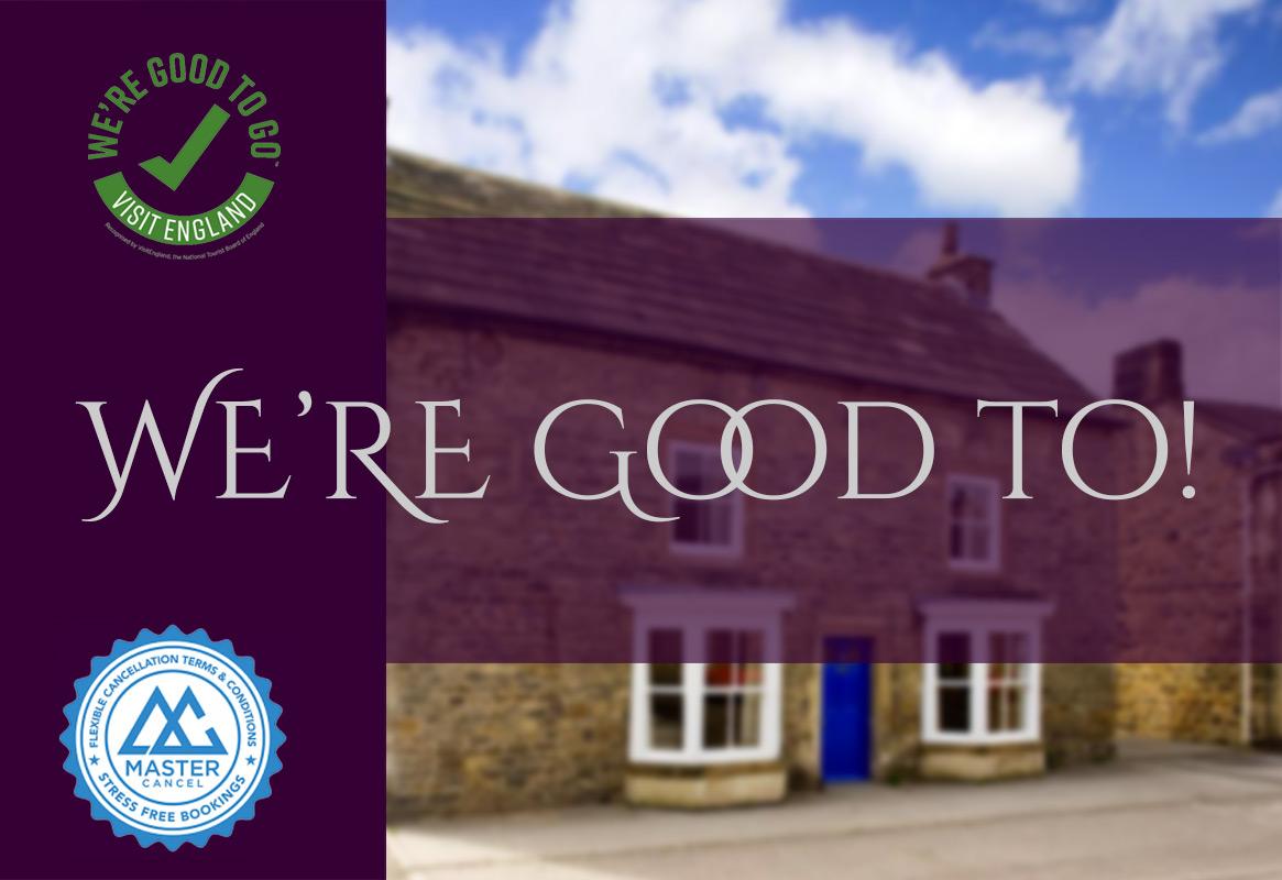 Morton House - Were Good to go banner