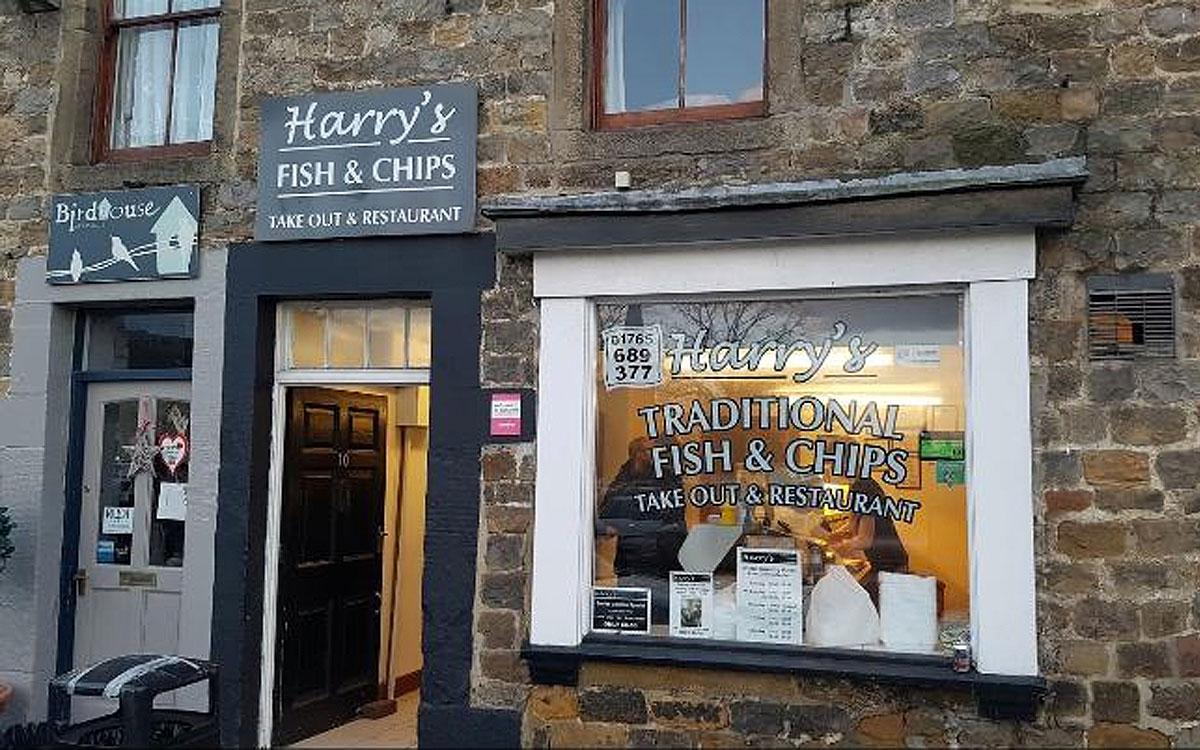 harrys fish and chip masham